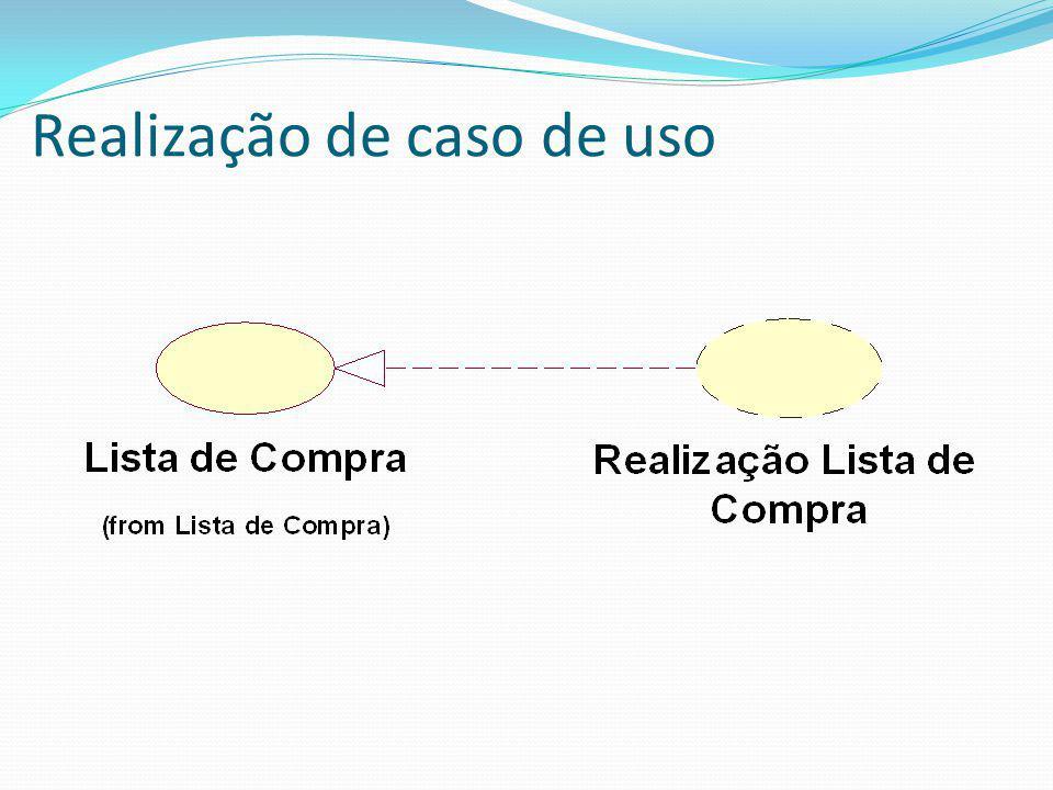 Realização de caso de uso