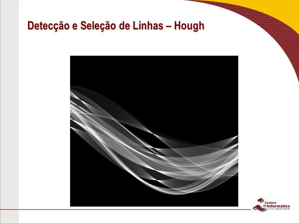 Detecção e Seleção de Linhas – Hough