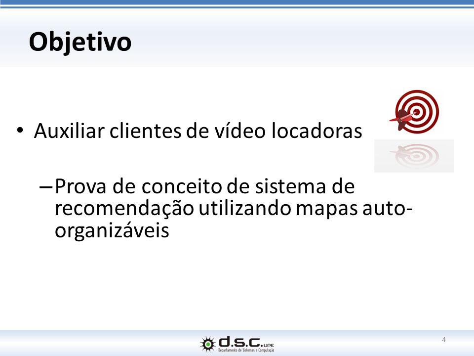 Objetivo Auxiliar clientes de vídeo locadoras