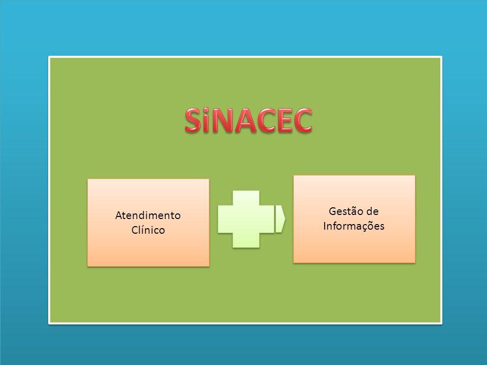 SiNACEC Gestão de Informações Atendimento Clínico