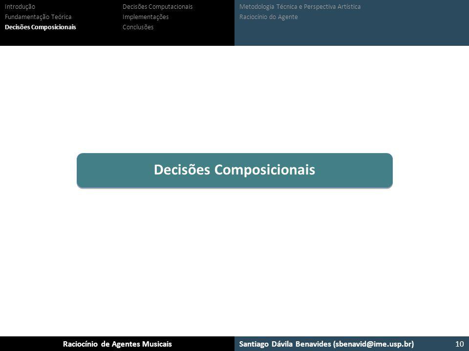 Decisões Composicionais