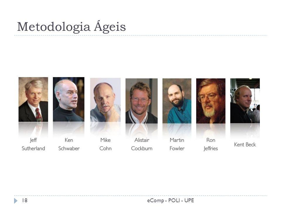 Metodologia Ágeis eComp - POLI - UPE