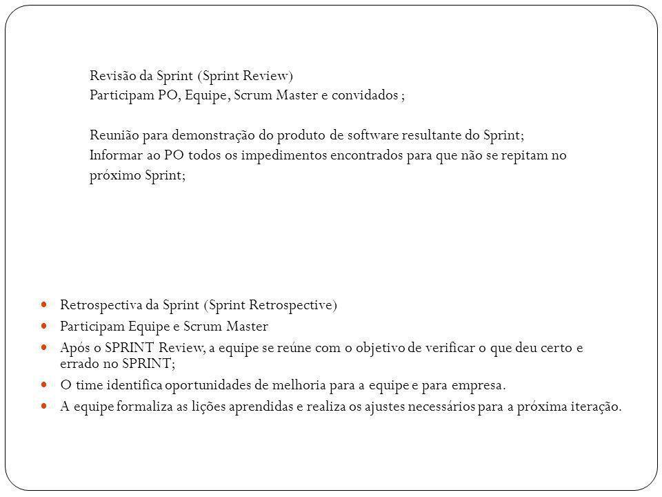Revisão da Sprint (Sprint Review)