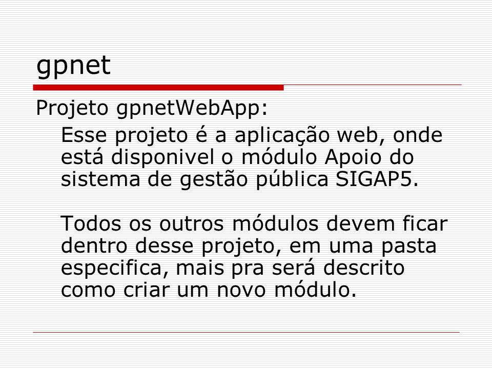 gpnet Projeto gpnetWebApp: