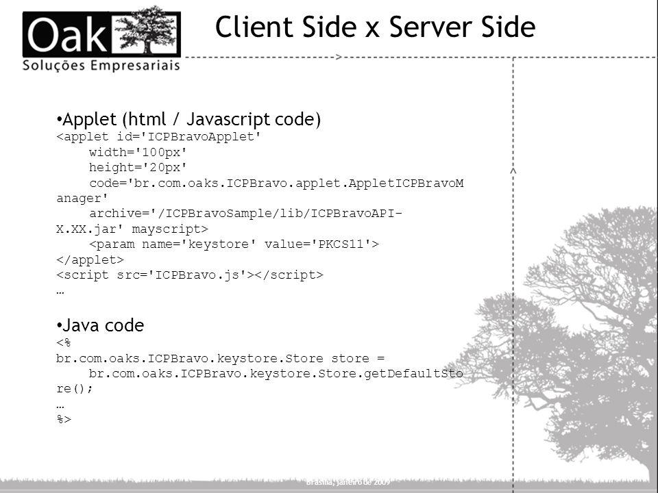 Client Side x Server Side