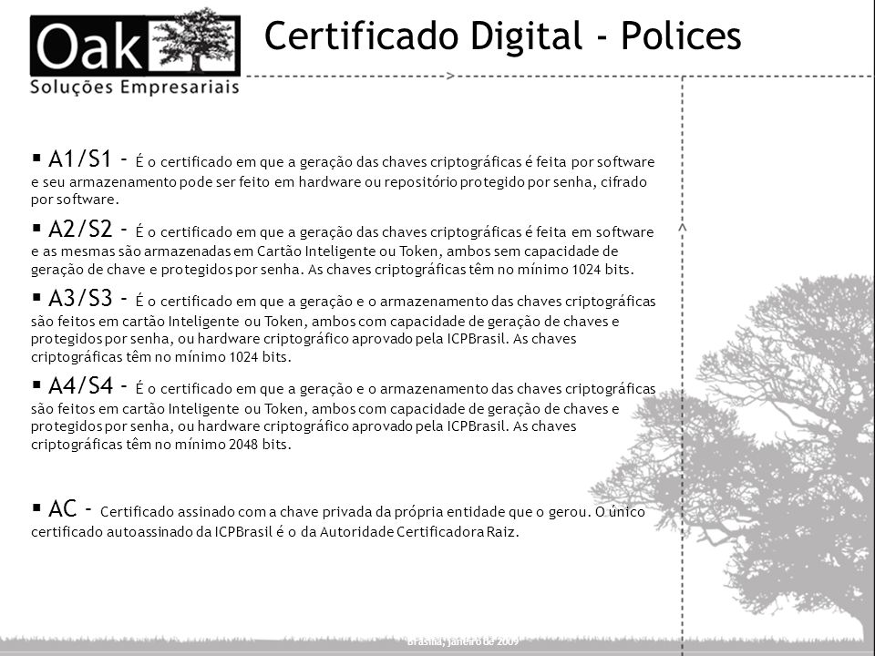 Certificado Digital - Polices