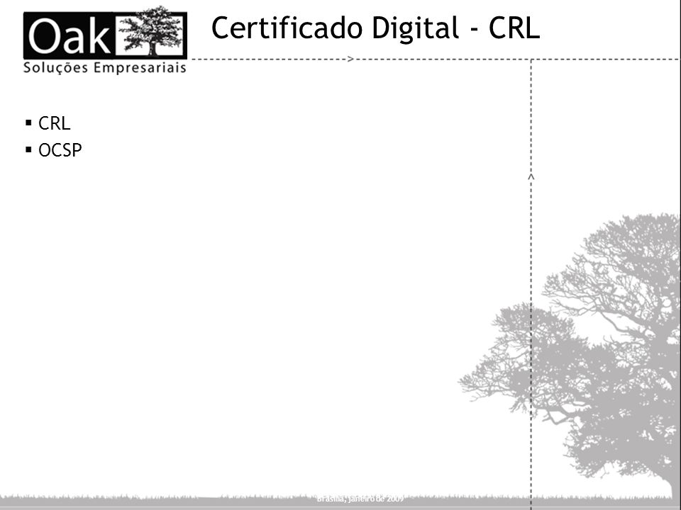 Certificado Digital - CRL