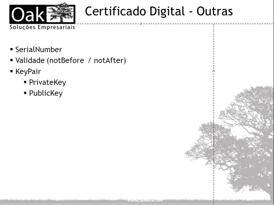Certificado Digital - Outras
