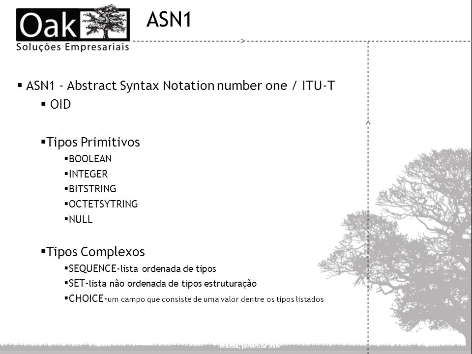 ASN1 ASN1 - Abstract Syntax Notation number one / ITU-T OID
