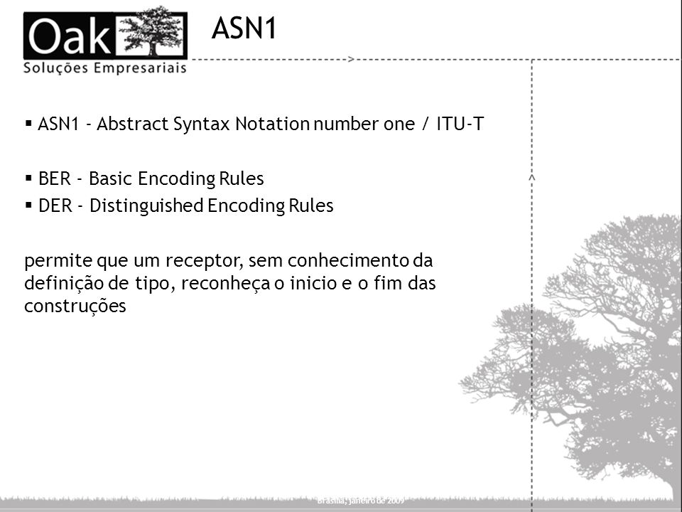 ASN1 ASN1 - Abstract Syntax Notation number one / ITU-T
