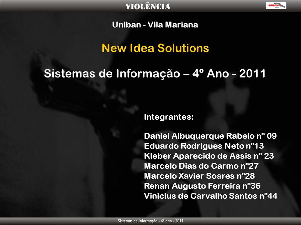 Sistemas de Informação – 4º Ano - 2011