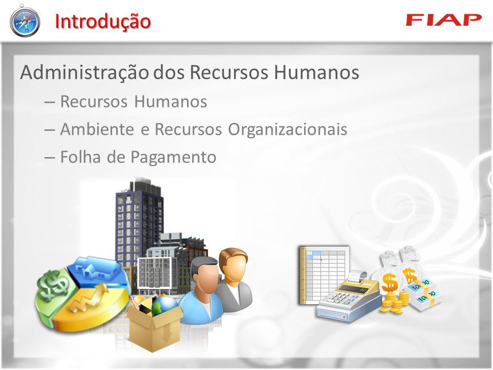 Administração dos Recursos Humanos