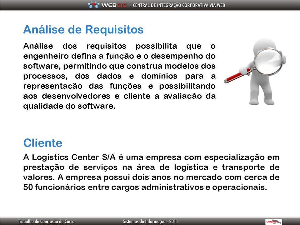 Análise de Requisitos Cliente