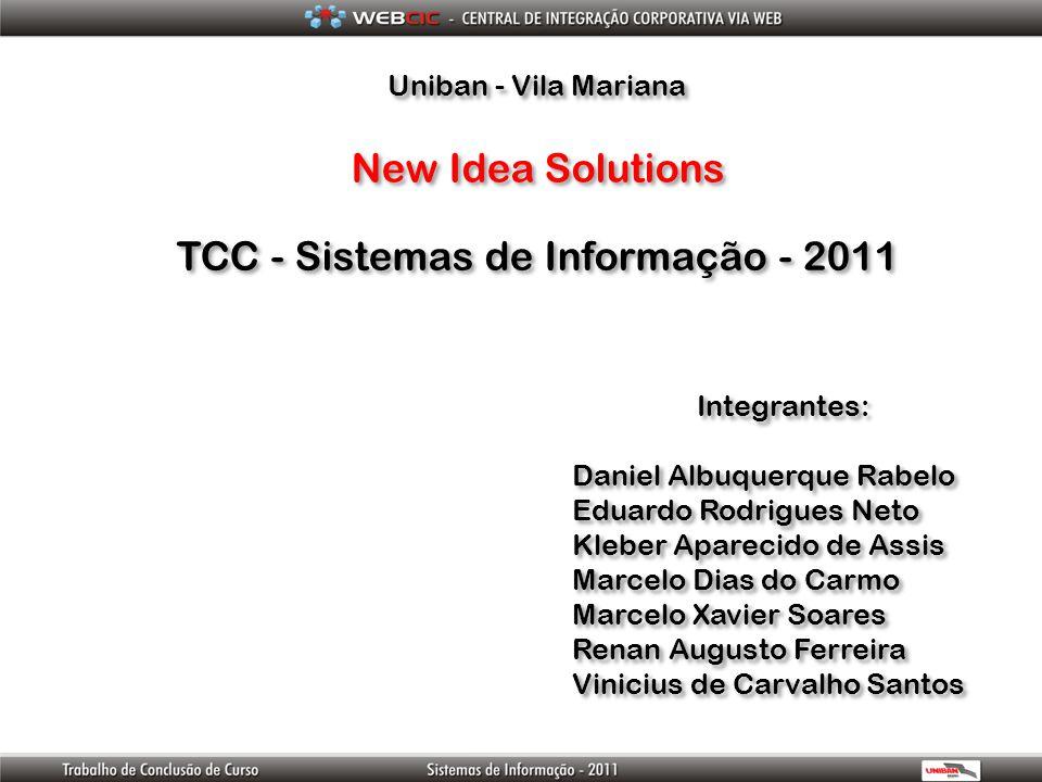 TCC - Sistemas de Informação - 2011