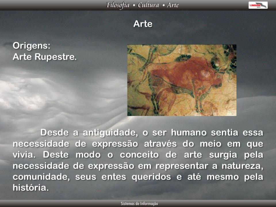 Arte Origens: Arte Rupestre.