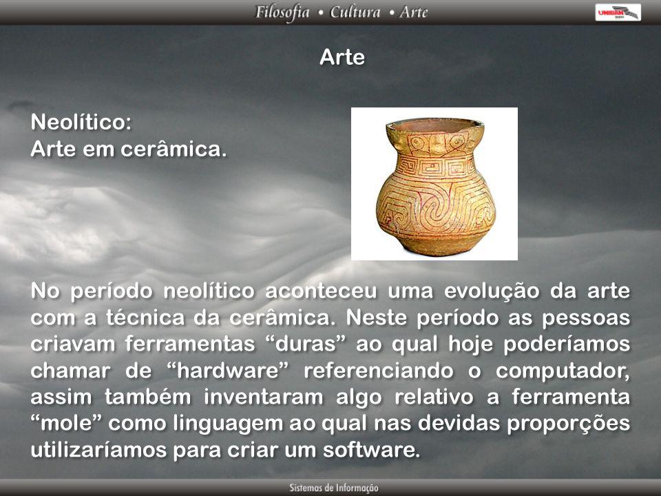 Arte Neolítico: Arte em cerâmica.