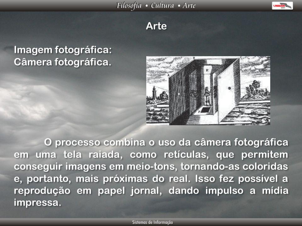 Arte Imagem fotográfica: Câmera fotográfica.