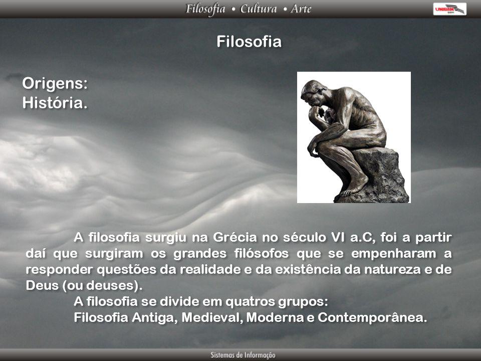 Filosofia Origens: História.