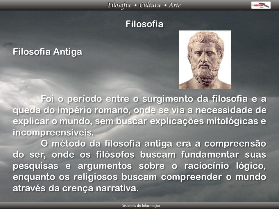 Filosofia Filosofia Antiga.