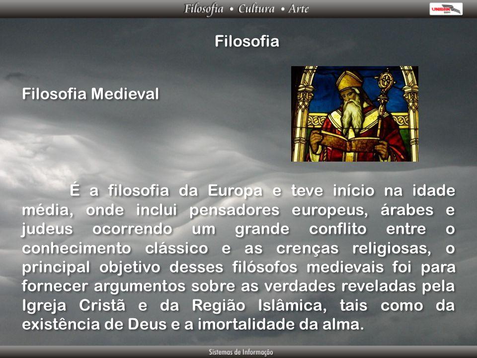 Filosofia Filosofia Medieval.