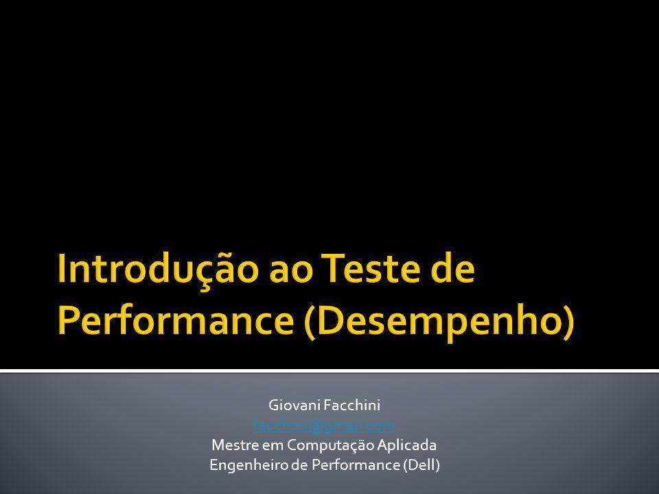 Introdução ao Teste de Performance (Desempenho)