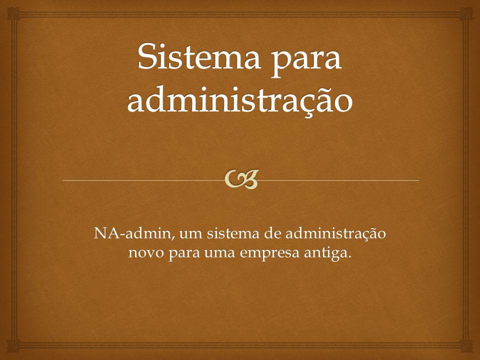 Sistema para administração