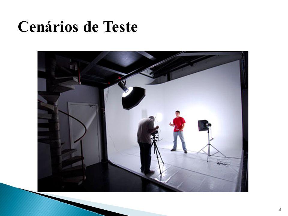 Cenários de Teste