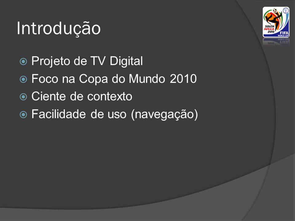 Introdução Projeto de TV Digital Foco na Copa do Mundo 2010