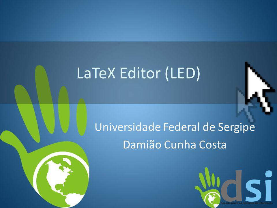 Universidade Federal de Sergipe Damião Cunha Costa