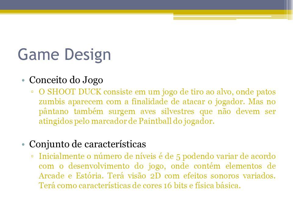 Game Design Conceito do Jogo Conjunto de características