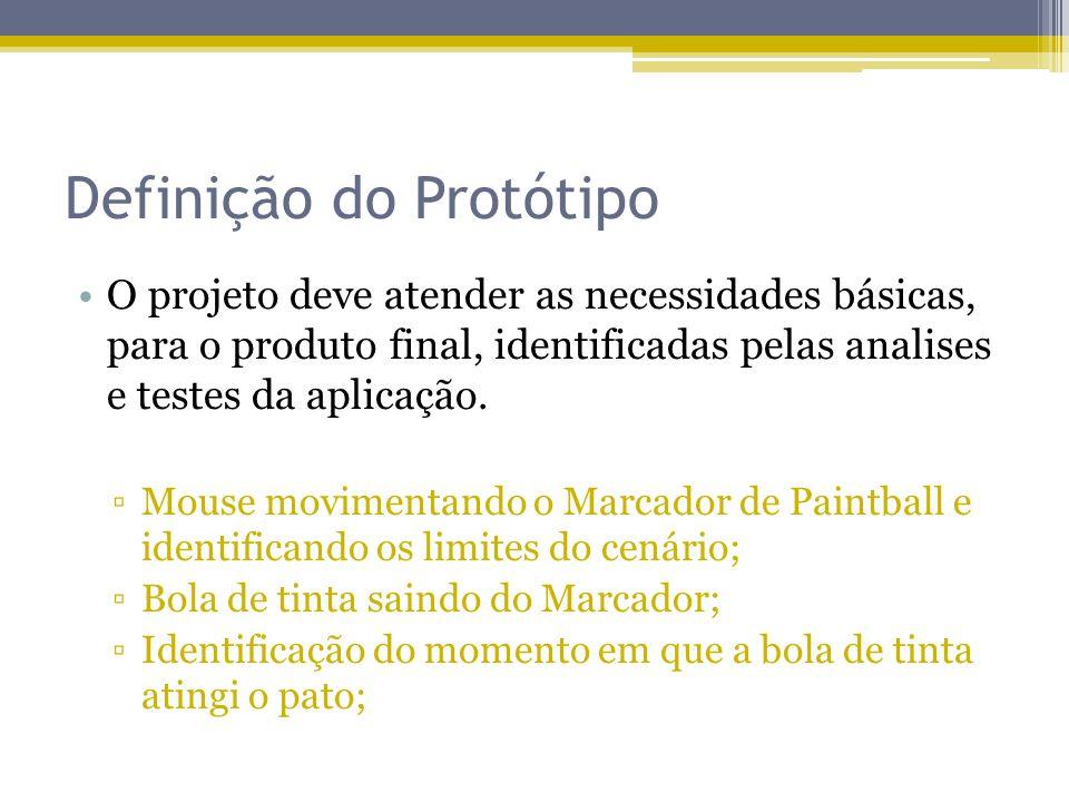 Definição do Protótipo
