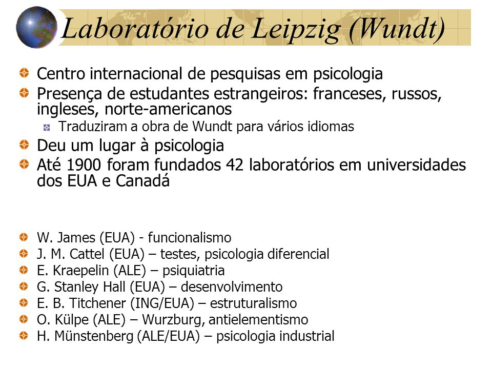 Laboratório de Leipzig (Wundt)