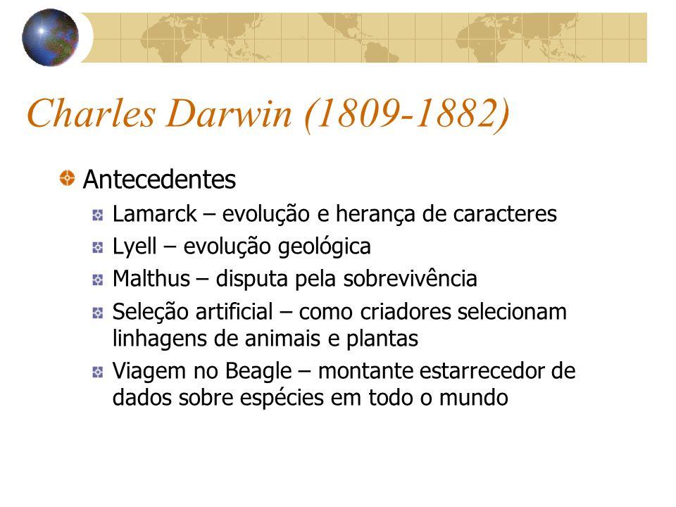 Charles Darwin (1809-1882) Antecedentes