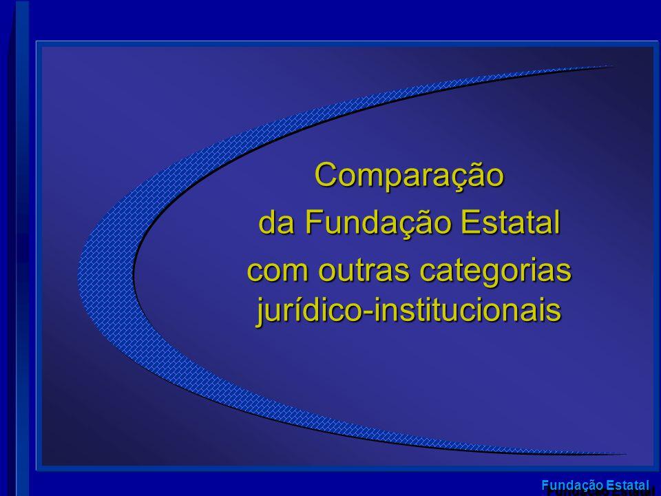com outras categorias jurídico-institucionais
