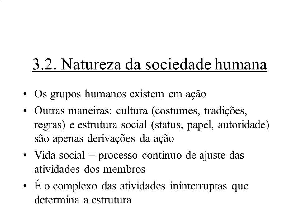 3.2. Natureza da sociedade humana