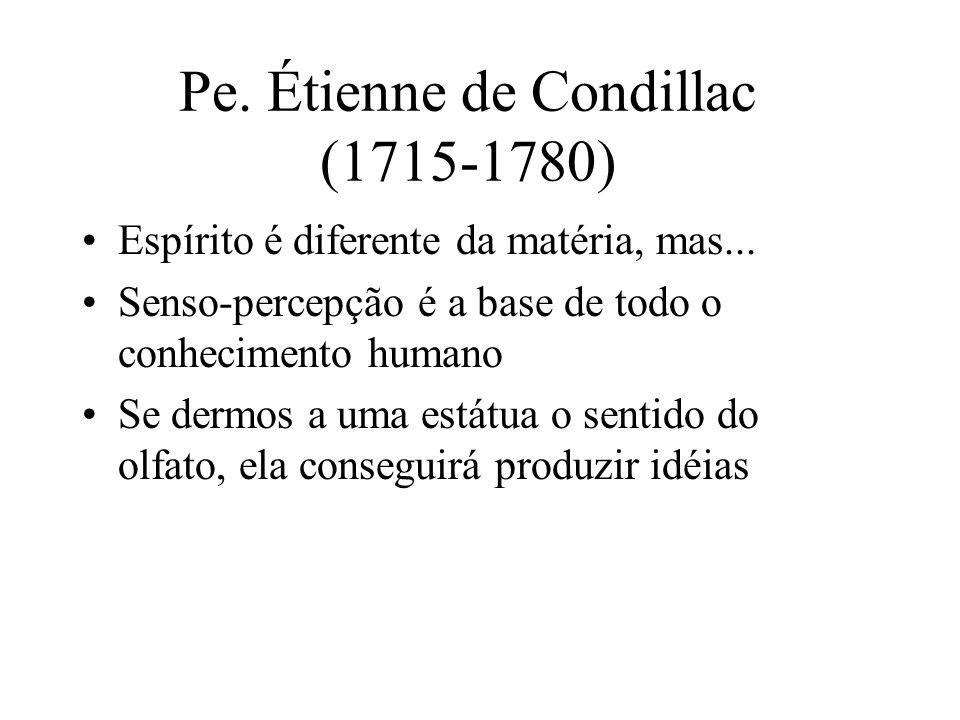Pe. Étienne de Condillac (1715-1780)