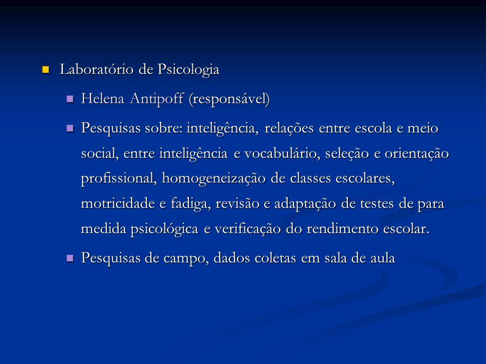 Laboratório de Psicologia