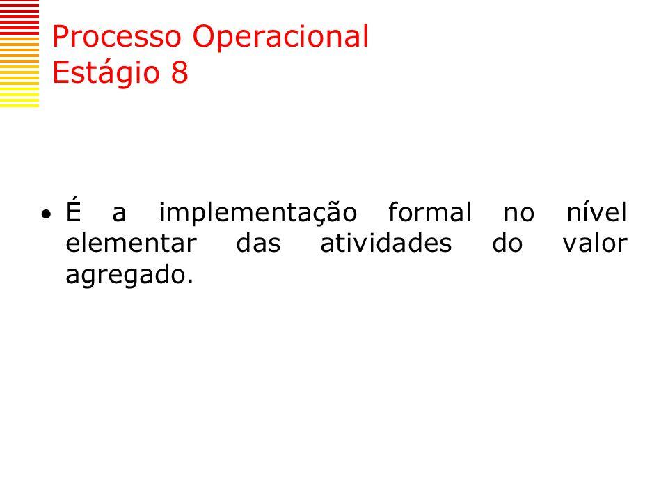Processo Operacional Estágio 8