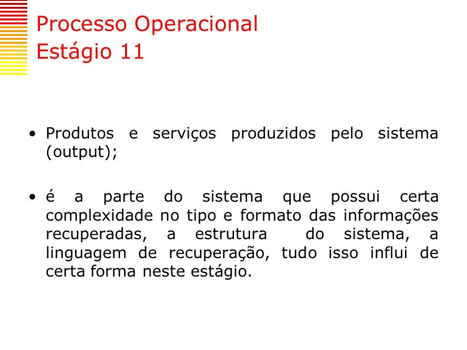 Processo Operacional Estágio 11