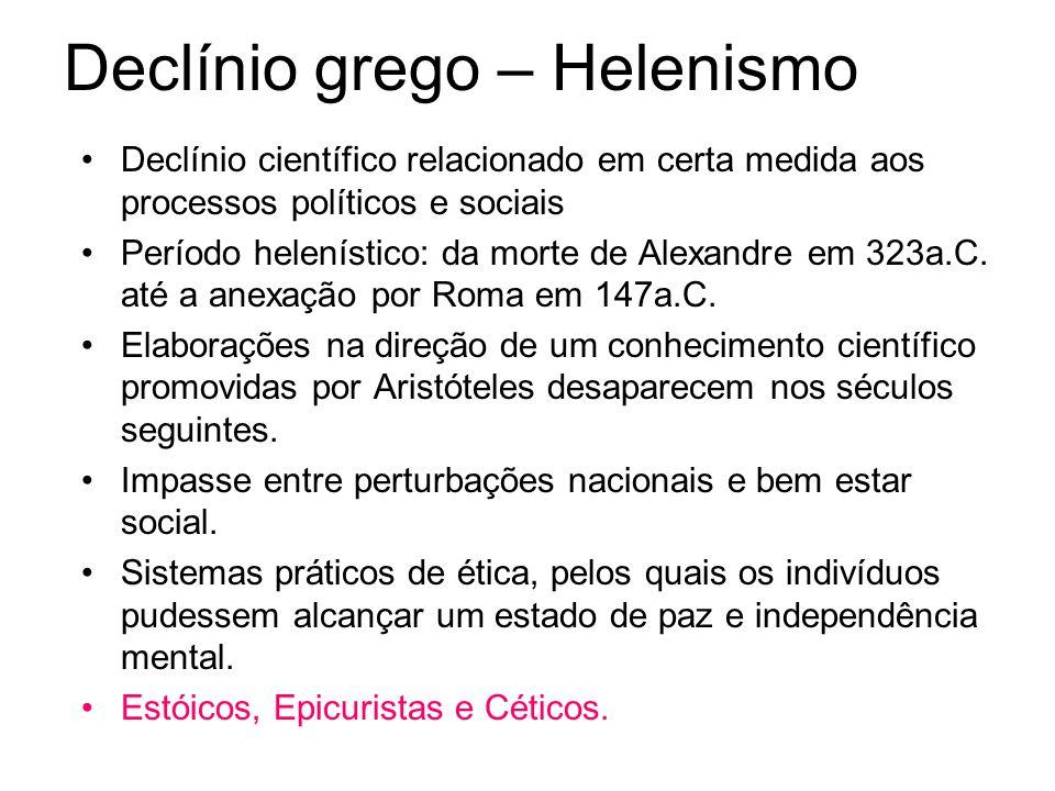 Declínio grego – Helenismo