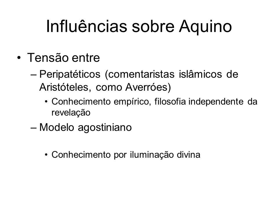 Influências sobre Aquino