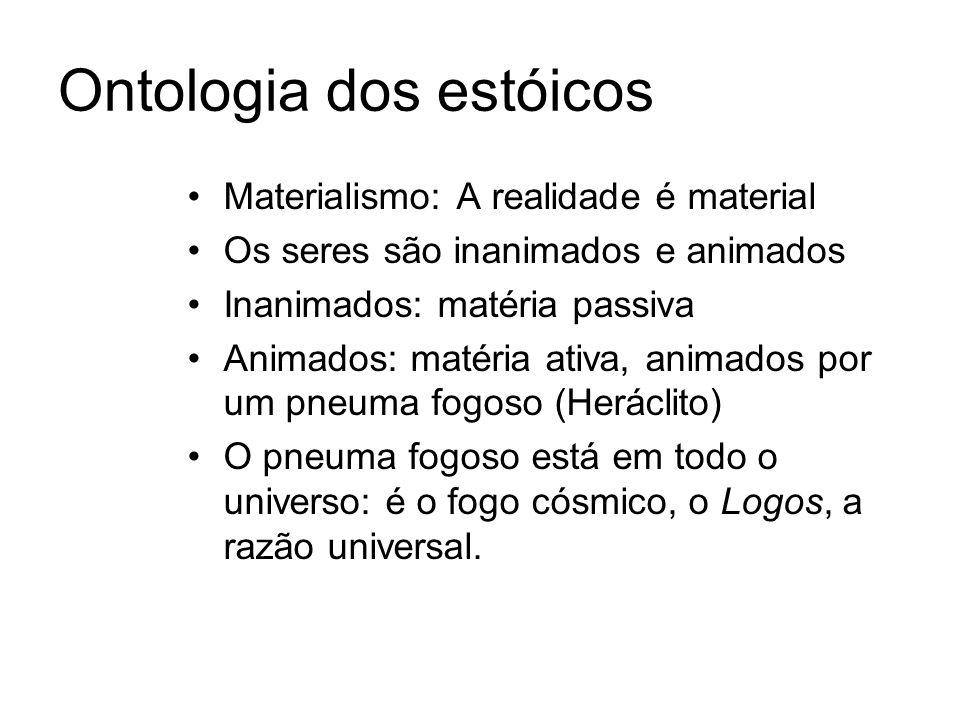 Ontologia dos estóicos
