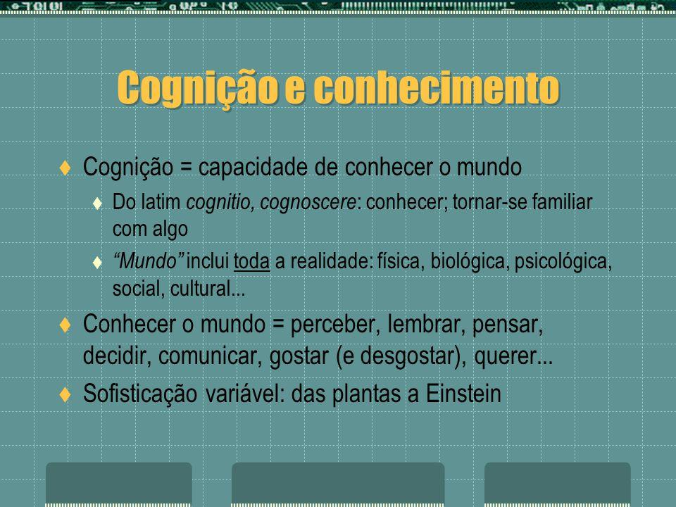 Cognição e conhecimento