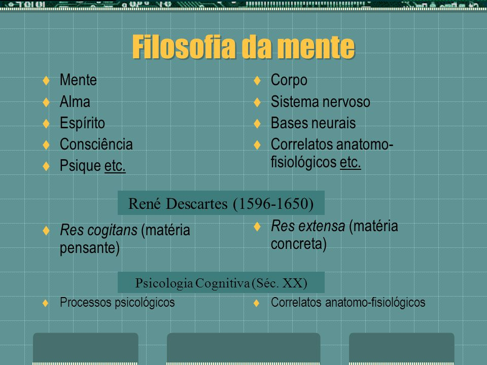 Psicologia Cognitiva (Séc. XX)