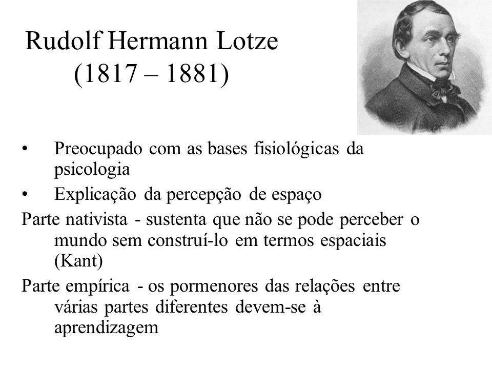 Rudolf Hermann Lotze (1817 – 1881)