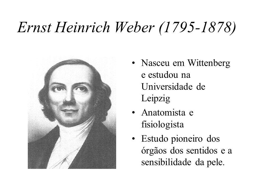 Ernst Heinrich Weber (1795-1878)