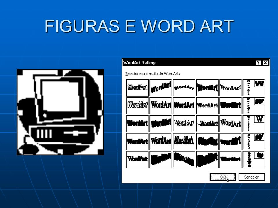 FIGURAS E WORD ART