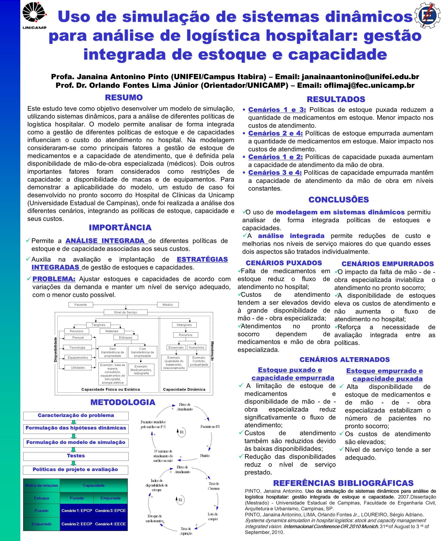 Uso de simulação de sistemas dinâmicos