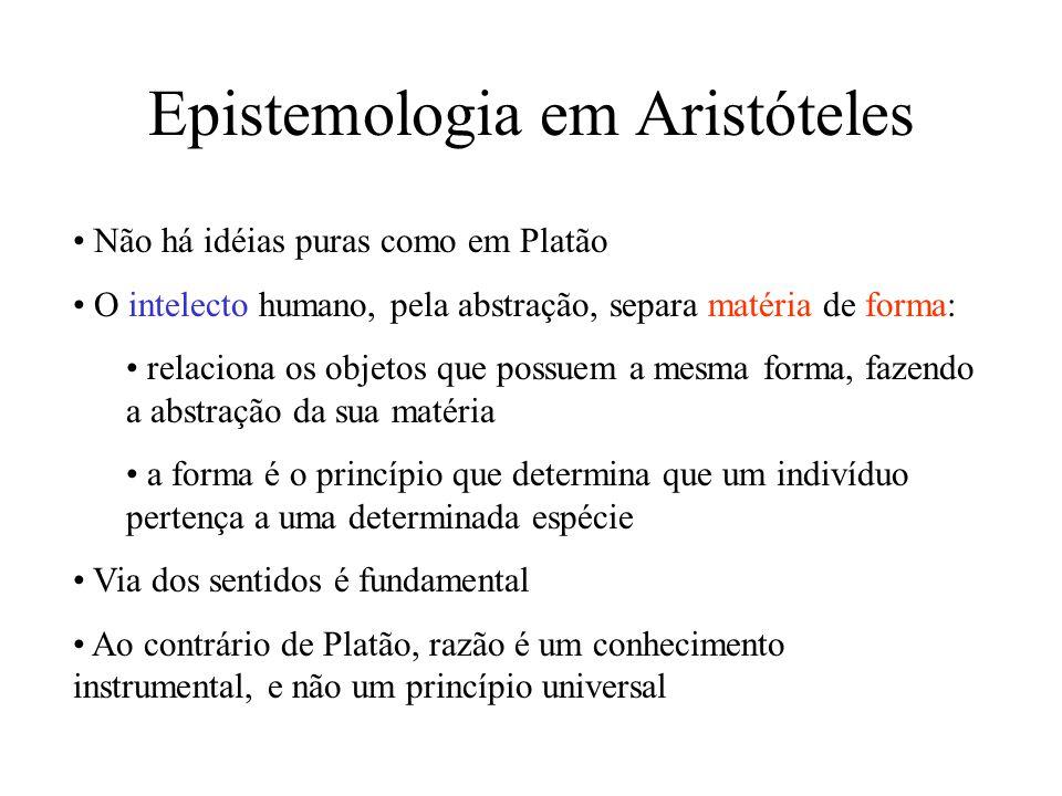 Epistemologia em Aristóteles