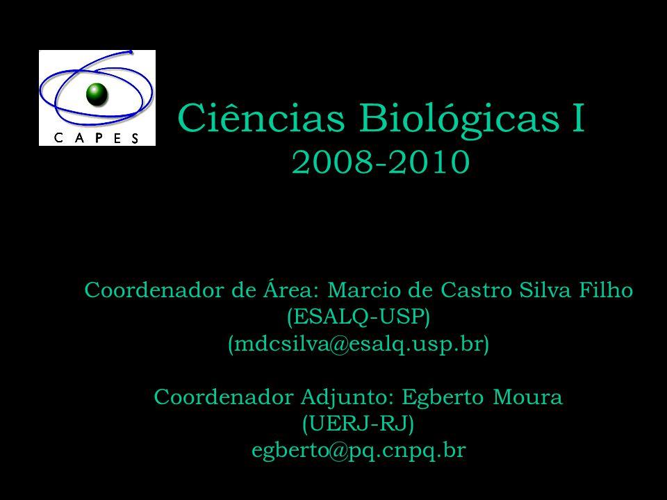 Ciências Biológicas I 2008-2010